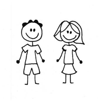 Blij met mij! kindertraining icon kinderen www.blijmetmij.nu